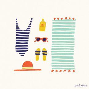 Diario de vacaciones. Mi veranoilustrado