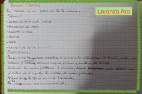 Receta Lorenza