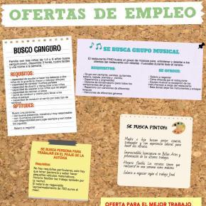 El mundo laboral: la oferta de trabajo, la entrevista y elCV