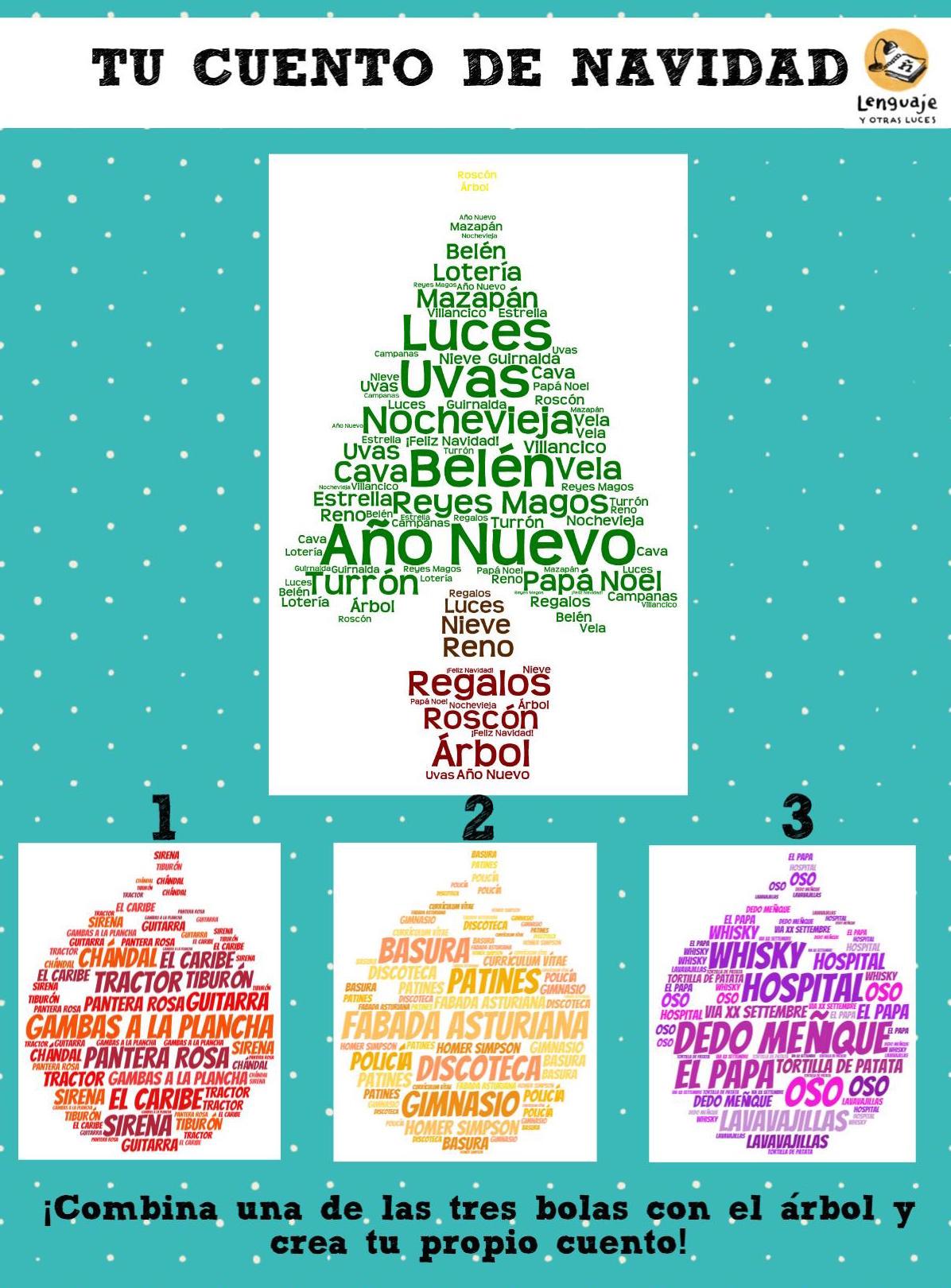 Cuentos de navidad fuera de lo com n lenguaje y otras luces - Cuento del arbol de navidad ...