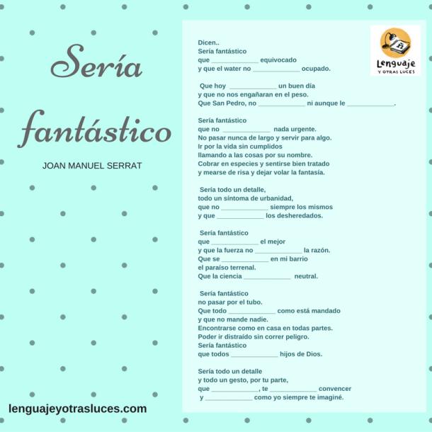 Canciones para practicar el imperfecto de subjuntivo